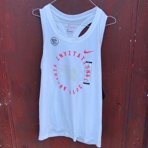 Nike Women Dri-Fit Tank Arcadia Cotton Tee